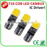 LED Width Light T10 Canbus plasma replacement bulb 2W 4300 K 6500K COB chips car parts accessories