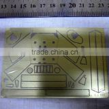 Fast delivery stainless steel 430 shim cutting compressor reed valve,Custom Brass shim blade etched ---DH20665