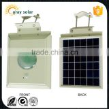 factory price waterproof ip65 12w solar panel solar led flood light with pir motion sensor