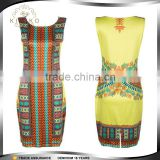 New Arrive Fashion Dashiki Dresses Traditional African Dress For Women Clothing Round Neck