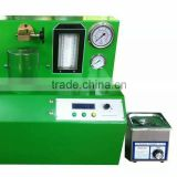 PQ1000 common rail injector test bench with Ultrasonic cleaning machine