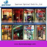 2015 New Type Sparkle Neon Restaurant Led Writing Board