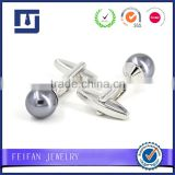 Custom cufflinks for men Wholesale refine design stainless steel man cufflink Jewelry manufacturer