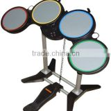 Factory price for wii/ps3/ps2/pc drum kit electronic drum set for wii ps2 ps3