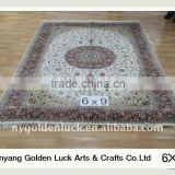 turkish 6x9 chinese handmade spun silk carpets and rugs