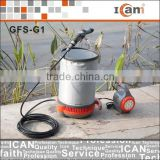 GFS-G1-mobile car cleaning equipment with 15L folding bucket