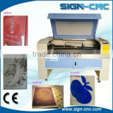 laser engraving machine for leather shoes laser cutting machine small leather craft laser cutting