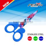 Colorful handle Printing blade beauty butterfly student scissors