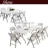 Folding Banquet Buffet Party. Indoor&Outdoor Garden Table With Handle JC-T116                                                                         Quality Choice