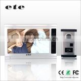ID card unlock Color Video Door Phone 9 Inch LCD 4 to 4 Intercom System Video Door Bell ring doorbell video                                                                         Quality Choice