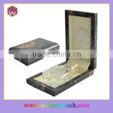 Personalised Delicate Leather Wrapping Perfume Bottle Box Packaging