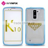 Hard plastic cell phone cases for LG K10/Q10 new designed mobile cell phone case for promotion