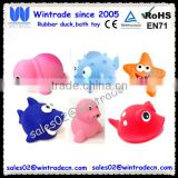 Baby Bath Toys Sea Animal Water Squirter Toy Environmental Protection Material Bathtub Toys