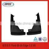 auto front mudguard FOR Ford Edge 3.5 V6 2006-2009 07 08 splash guard PP material selling