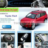 Remote Control Engine Starter Push Start Button System with Auto Car Alarm System for Toyota RAV4