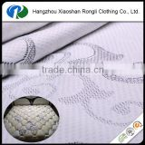 wholesale cotton jacquard upholstery fabric for mattress