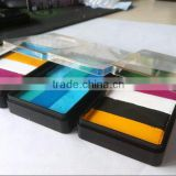 waterbased rainbow face painting palette