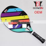 best quality full carbon titanium beach tennis racket eva inside 350g