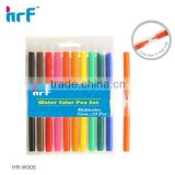10 PK Double tip water color pen(twin tip felt tip pens) HR-W005