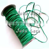 Green color 1/8'' skinny custom elastic newborn baby headbands -29 pure colors plain flat stretchy foe hair tie