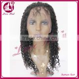 Most popular products 2014 hot sale 100% unprocessed virgin brazilian hair full lace wig