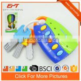 Electric intelligent baby toy flash remote smart key toy with music