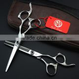 2016 6 inch purple dragon Professional Hairdressing Scissors Hair Cutting Scissorsc Barber Shears Set