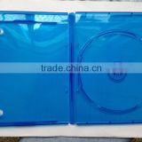 Elegant 11mm Plastic Single DVD Blu Ray Case With Printing Logo