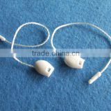 fashion brand hang tag plastic seal string for clothes