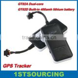 GT02A & GT02D Car GPS dual-core built-in 400amh battery, Power cut off alarm,Geo-fence