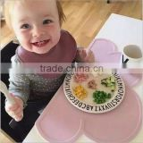 Silicone Non-slip Cloud Shape Kids Placemat Dinnerware Table Mat / kids meal mat placemat eat mat