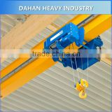lowest price ! 2016 HOT SALE China 5 ton electric single girder overhead bridge crane price