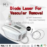 2015 Hospital Diode laser for Red Blood Spider Veins,Facial veins,Rosacea Removal