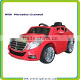 2016 newest licensed ride on car 12v, baby remote control ride on car toy for children,kids battery powered ride on car