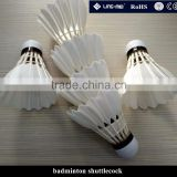 Wholesale top brand goose feather badminton shuttle