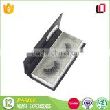 Professional OEM custom logo printed magnet false eyelashes packaging box with clear window