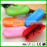 Cheap Cute Large capacity storage candy colored silicone sunglasses/ glasses bag/case/box