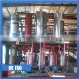 Rubber oil waste plastic tyre pyrolysis revycling plant
