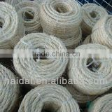 twisted sisal rope natural sisal fibre 3mm-60mm new arrive