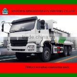 China HOHAN 6X4 urban-construction muck truck for sale