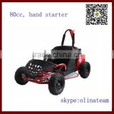 80cc new cheap kids gas pedal go kart