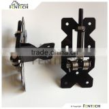 Made in China Fentech High Quality Black Adjustable Hinge Attached to a Vinyl Fence Gate