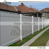 Traditional high quality UV proof cheap plastic/vinyl/pvc privacy fence panel