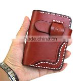 Top genuine leather business card holder business genuine leather cover bulk clear PVC card holder