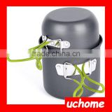 UCHOME Hard Anodized Aluminum Camping Cookware