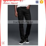 wholesale mens cheap jeans custom black slim fit jeans