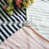 Styliest Comfortable With High Quality 100% Merino Wool Single Jersey Stripe Fabric