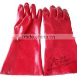 Heavy duty PVC Dipped working safety gloves