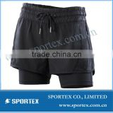 ladies running short, high end brand sport shorts, OEM sport wear