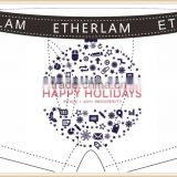Merry Christmas Custom Boxer Men Underwear Your Brand Open Flap Boxer Shorts with Pocket Wide Elastic
